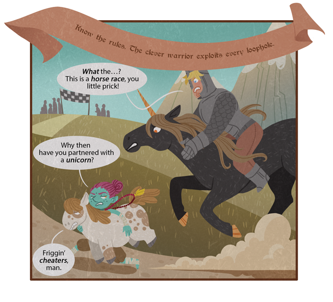 Three fun facts about that awakened miniature Shetland pony. 1) He is voiced by Danny DeVito.  2) His name is Vincenzo.  3) He's got twenty large riding on this race.