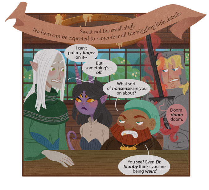 All is not well in the King's Head Tavern! >_>